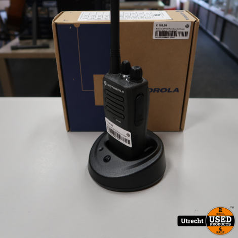 Motorola DP1400 Portofoon Incl Lader & Extra Batterij | Nieuwstaat