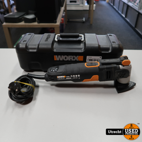 Worx WX680 350W Multitool | in Prima Staat