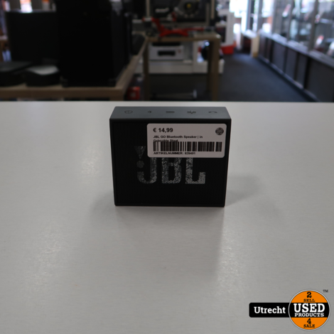 JBL GO Bluetooth Speaker | in Gebruikte Staat