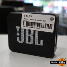 JBL Go 2 Bleutooth Speaker Mist Klepje