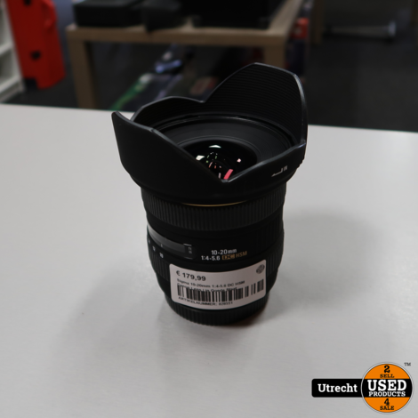 Sigma 10-20mm 1:4-5.6 DC HSM Canon Lens | in Goede Staat