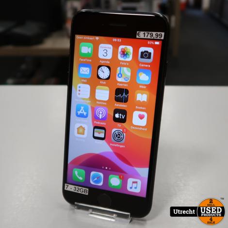 iPhone 7 32GB Zwart | Redelijke staat