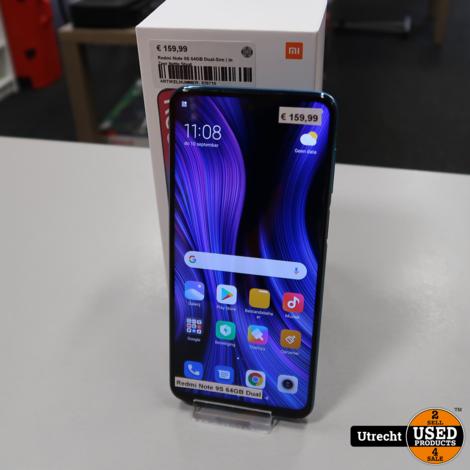 Redmi Note 9S 64GB Dual-Sim | in Zeer Nette Staat