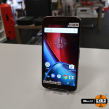 Motorola Moto G4 Plus 16GB Black | in Nette Staat