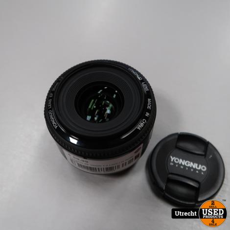 Yongnuo EF 35mm 1:2 Lens | in Nette Staat