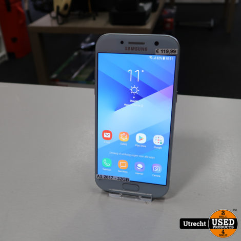 Samsung Galaxy A5 2017 32GB Blue | Prima staat