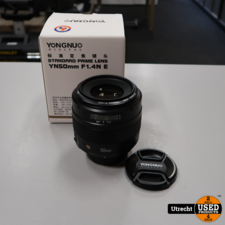 Yongnuo YN50mm F1.4N E Lens | in Nette Staat