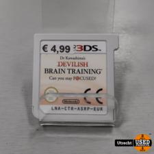 Nintendo 3DS Game: Devilish Brain Training
