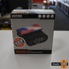 Denver CRQ-107 Wekkerradio met Draadloos Opladen | Nieuw