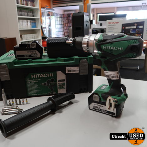 Hitachi Hikoki DS18DSDL 2 Accu boor-schroefmachine