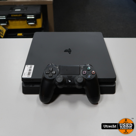 Playstation 4 Slim 1TB Black | in Prima Staat
