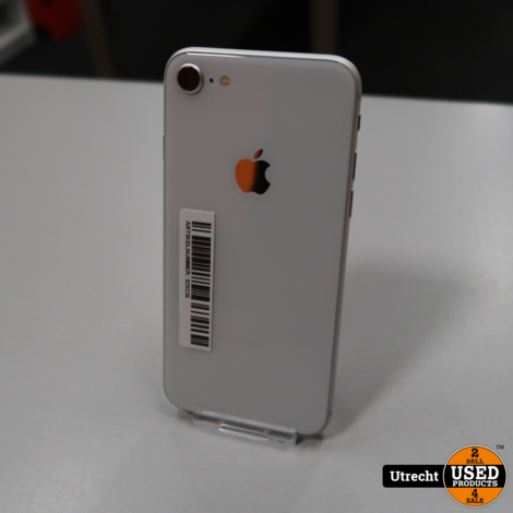 iPhone 8 64GB Silver | in Prima Staat