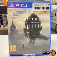 Playstation 4 Game: Shadow of the Colossus