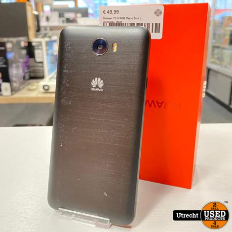 Huawei Y5 II 8GB Duos Sim   Redelijke staat