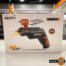 Worx schroevendraaier Wx254.4 4v   Nieuw