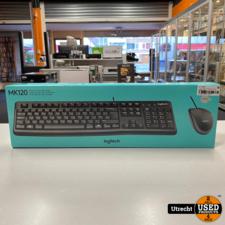 Logitech MK120 Toetsenbord + Muis   Nieuw in doos