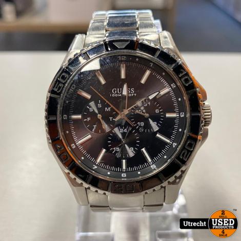 Guess W0479G1 Unplugged Heren Horloge
