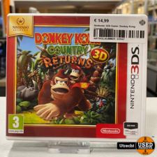 Nintendo 3DS Game: Donkey Kong Country Returns