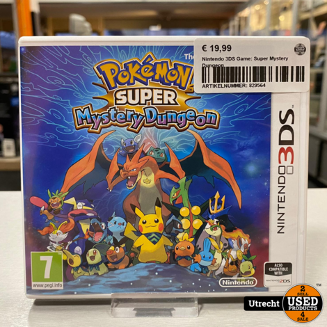 Nintendo 3DS Game: Super Mystery Dungeon
