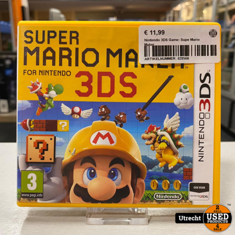 Nintendo 3DS Game: Supe Mario Maker