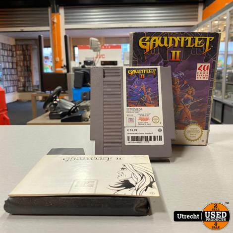 Nintendo NES Game: Guantlet 2