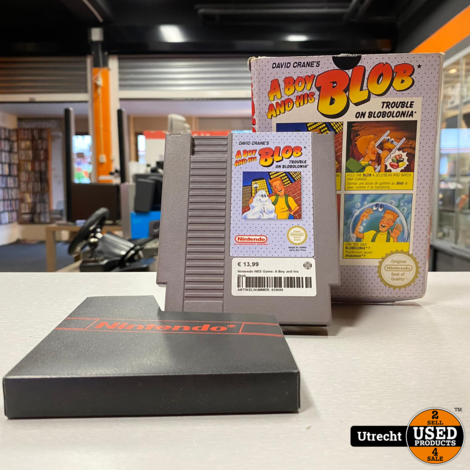 Nintendo NES Game: A Boy and his Blob