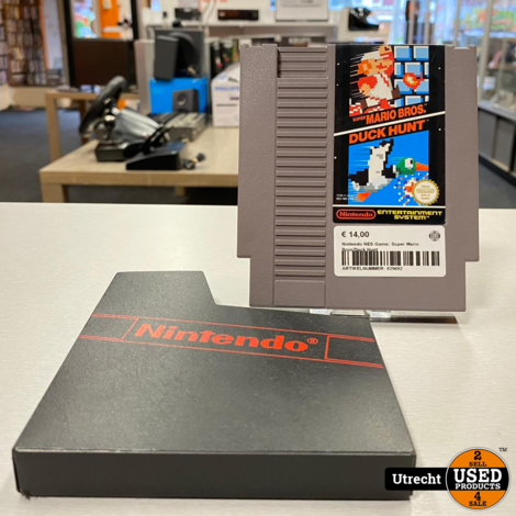 Nintendo NES Game: Super Mario Bros/Duck Hunt