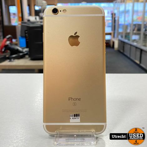 iPhone 6S 64GB Gold Redelijke staat