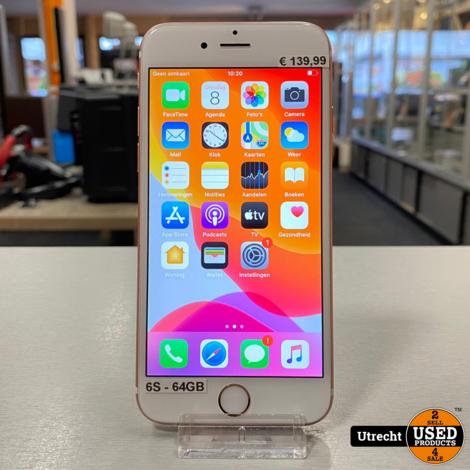 iPhone 6S 64GB Rose Gold Redelijke staat