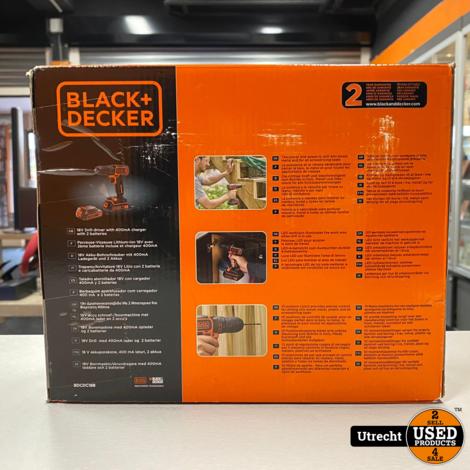 Black and Decker BDCDC18B Accu boormachine Nieuw