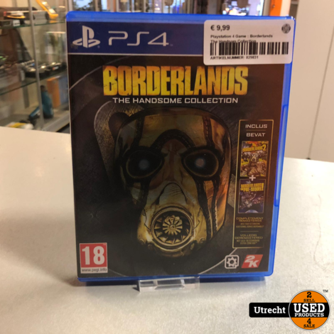 Playstation 4 Game : Borderlands The Handsom Collection