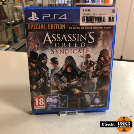 Playstation 4 Game : Assassin's Creed Syndicate
