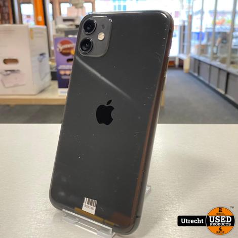 iPhone 11 128GB Zwart Apple Garantie 5 Mei 2021