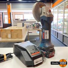 Bosch Professional GWS 18-125 V-LI Incl Accu & Lader