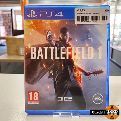 Playstation 4 Game : Battlefield 1