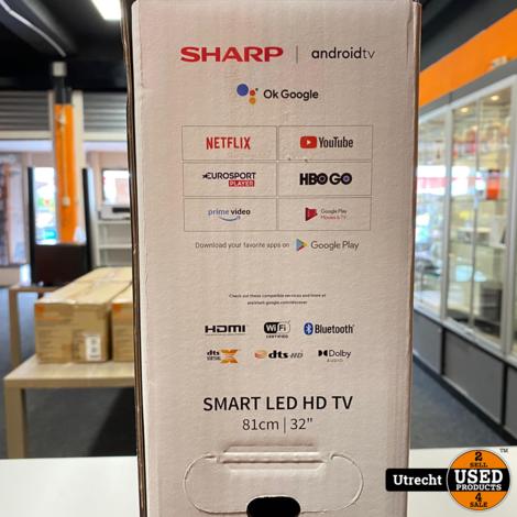 Sharp 32BI2EA Full HD Smart Android TV 32 Inch Nieuw