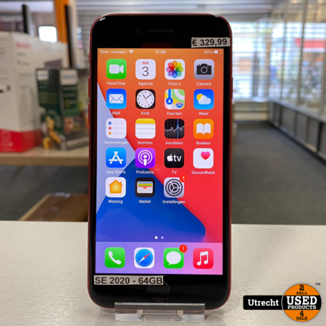 iPhone SE 2020 64GB Red