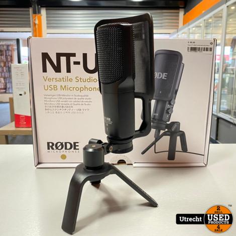 Rode NT-USB Condensatormicrofoon