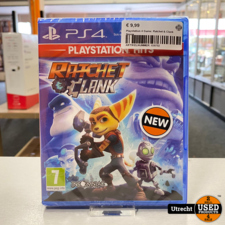 Playstation 4 Game: Ratchet & Clank Nieuw