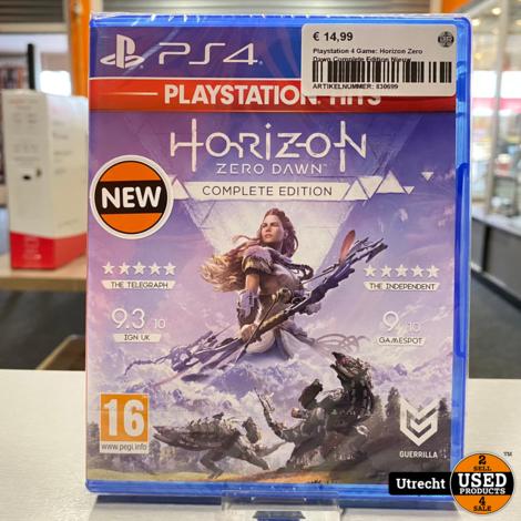 Playstation 4 Game: Horizon Zero Dawn Complete Edition Nieuw