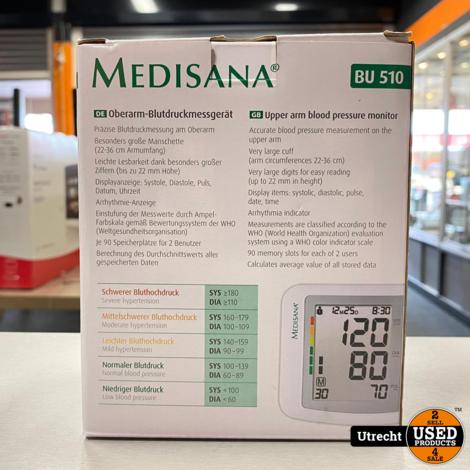 Medisana Oberarm-bloedruk Meter BU 510