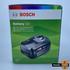 Bosch Li-Ion accu 18V 4.0 Ah Nieuw