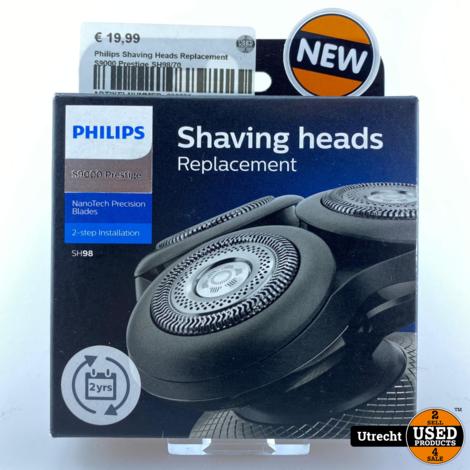 Philips Shaving Heads Replacement S9000 Prestige SH98/70 Nieuw