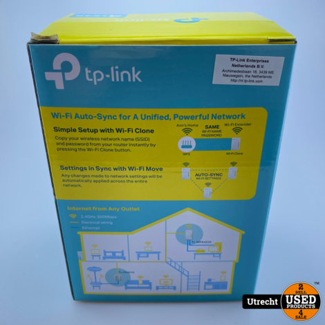 TP-Link AV600 Powerline WiFi Kit TL-WPA4220 Kit