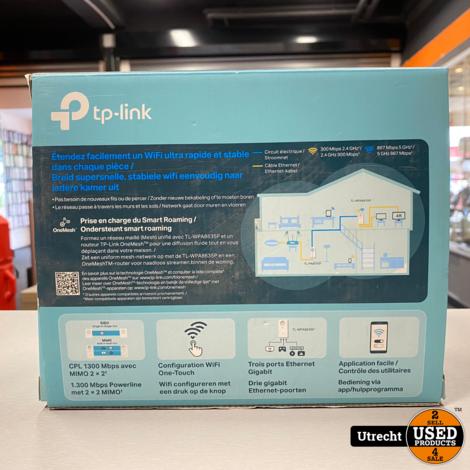 TP-Link TL-WPA8635P KIT Wifi Powerline Belgisch stekker
