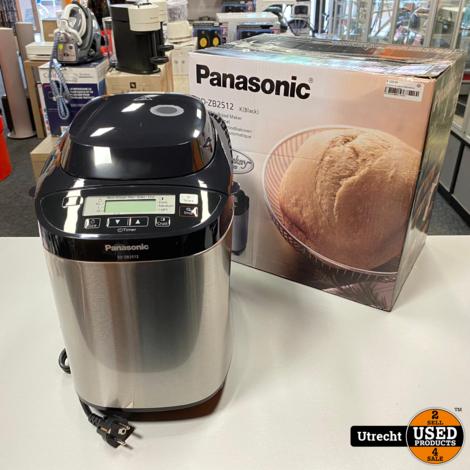 Panasonic SD-ZB2512 Automatische Broodbakoven Zwart Nieuw