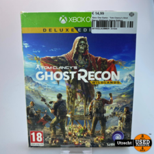 Xbox One Xbox One Game : Tom Clancy's Ghst Recon Wildlands Deluxe Edition