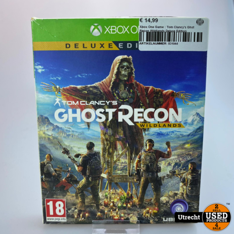 Xbox One Game : Tom Clancy's Ghst Recon Wildlands Deluxe Edition