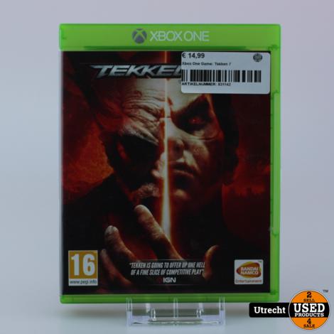 Xbox One Game: Tekken 7