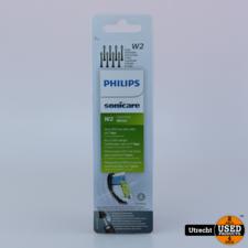 Philips Sonicare W2 8 Stuks Head Zwart HX6068/13 Nieuw